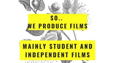 We provide films - mainly student and independent films