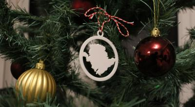 Anglesey christmas tree decoration